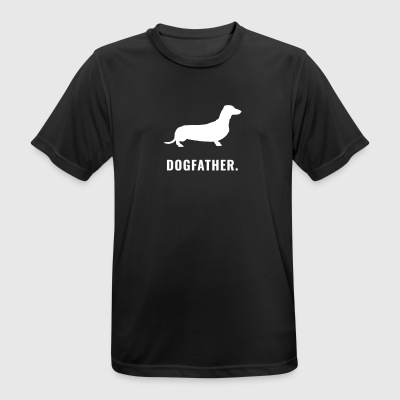 Dachshund - Dogfather - Men's Breathable T-Shirt