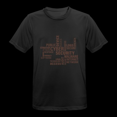Cyber Security - Men's Breathable T-Shirt