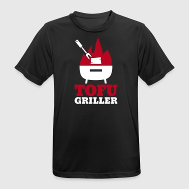 Tofu Griller - gift for vegans and vegetarians - Men's Breathable T-Shirt