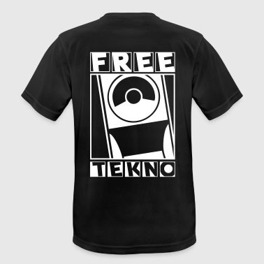 233 free tekno - Men's Breathable T-Shirt