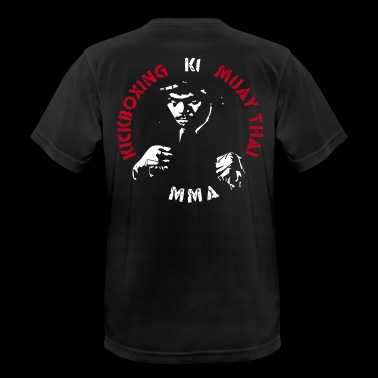MMA Fighter Face - 2 couleurs - T-shirt respirant Homme