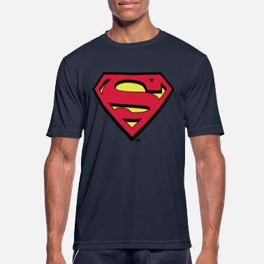 S-shield Superman Logo S-Shield - Männer Sport T-Shirt