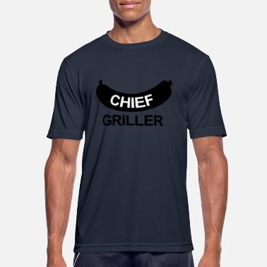 Grillking Chief Griller - Men's Sport T-Shirt