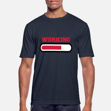Working Working - T-shirt sport Homme