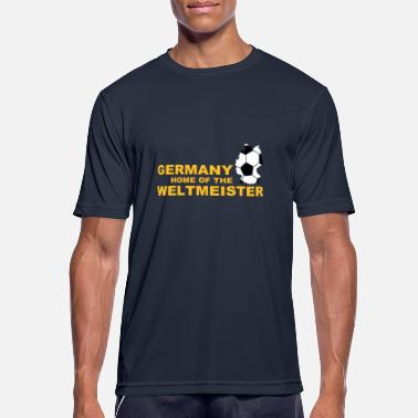 Straffespark Germany home of the weltmeister 2 - Sport T-skjorte for menn