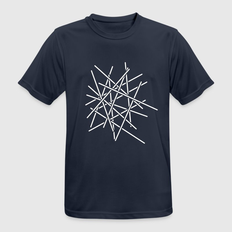 Sticks Chaos Design - Men's Breathable T-Shirt