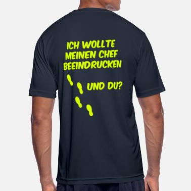 Business Run Business Run - Laufshirt - Chef beeindruck - Männer T-Shirt atmungsaktiv