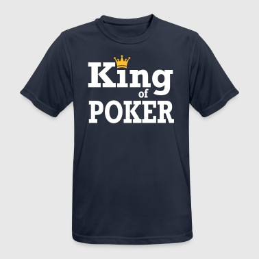 King of Poker - mannen T-shirt ademend