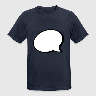 2541614 15422397 Speech bubble - Men's Breathable T-Shirt