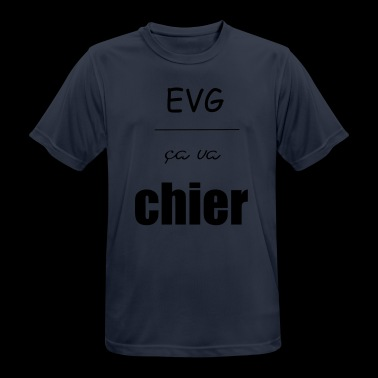 EVG ca will shit - Men's Breathable T-Shirt