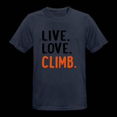 Climb 6254398 115223395 - Men's Breathable T-Shirt