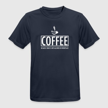 coffee - Men's Breathable T-Shirt