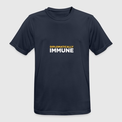 Diplomatically Immune! - T-shirt respirant Homme