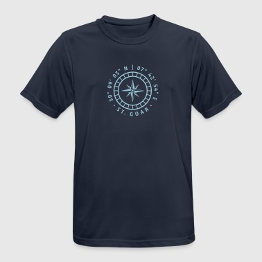 Compass St. Goar - Men's Breathable T-Shirt
