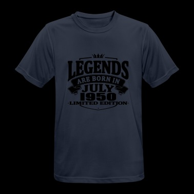 Legends are born in july 1950 - Men's Breathable T-Shirt