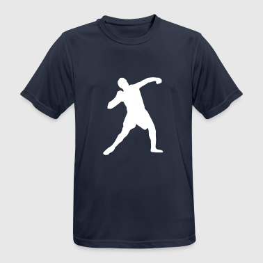 shot put - track and field - Men's Breathable T-Shirt