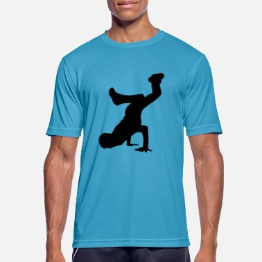 Breakdance Breakdance - Mannen sport T-shirt