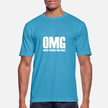 Marketing OMG Online Marketing Guru cadeau-idee - Mannen sport T-shirt