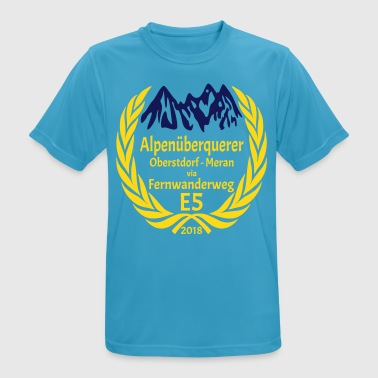 Gold Flex Alpine Crossing E5 2018 - Men's Breathable T-Shirt