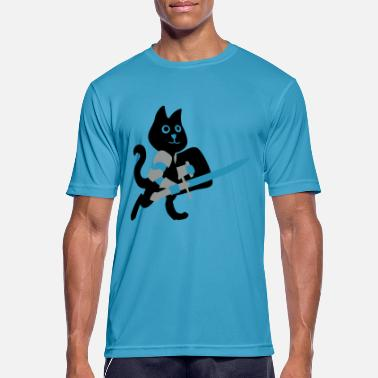 Chivalry cat knight / chivalry Cat - Men's Breathable T-Shirt