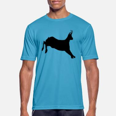 Jump Wisdom The Jump (Vector) - Men's Breathable T-Shirt