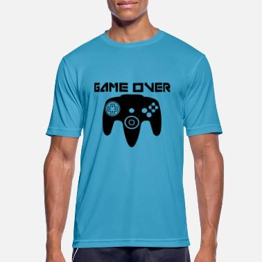 N64 Game Over N64 - Men's Breathable T-Shirt