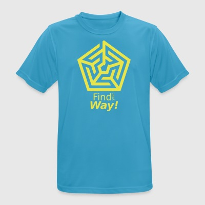 labyrinth - Men's Breathable T-Shirt