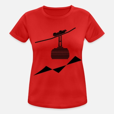 Cable Car cable car - Women's Sport T-Shirt