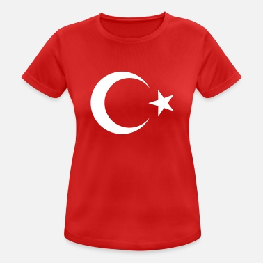 Turkish Turkish flag - Women's Sport T-Shirt
