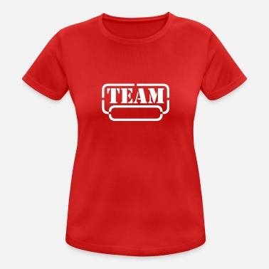 Freak name your team - Frauen Sport T-Shirt