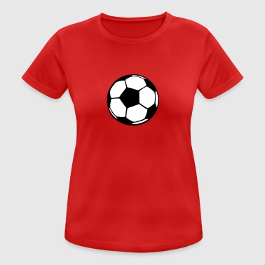 Football ball - Women's Breathable T-Shirt