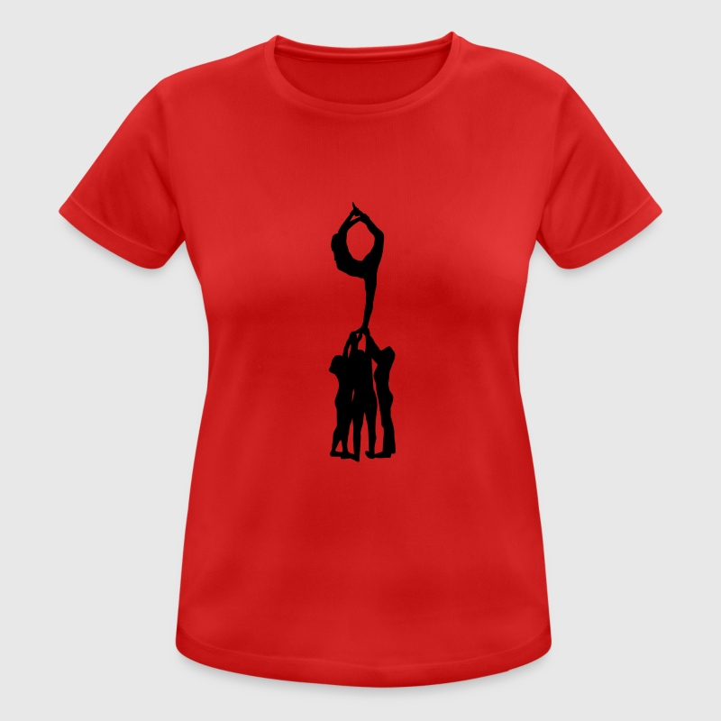Cheerleading, Cheerleader - Camiseta mujer transpirable