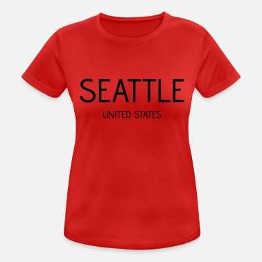 Seattle Seattle - Women's Sport T-Shirt