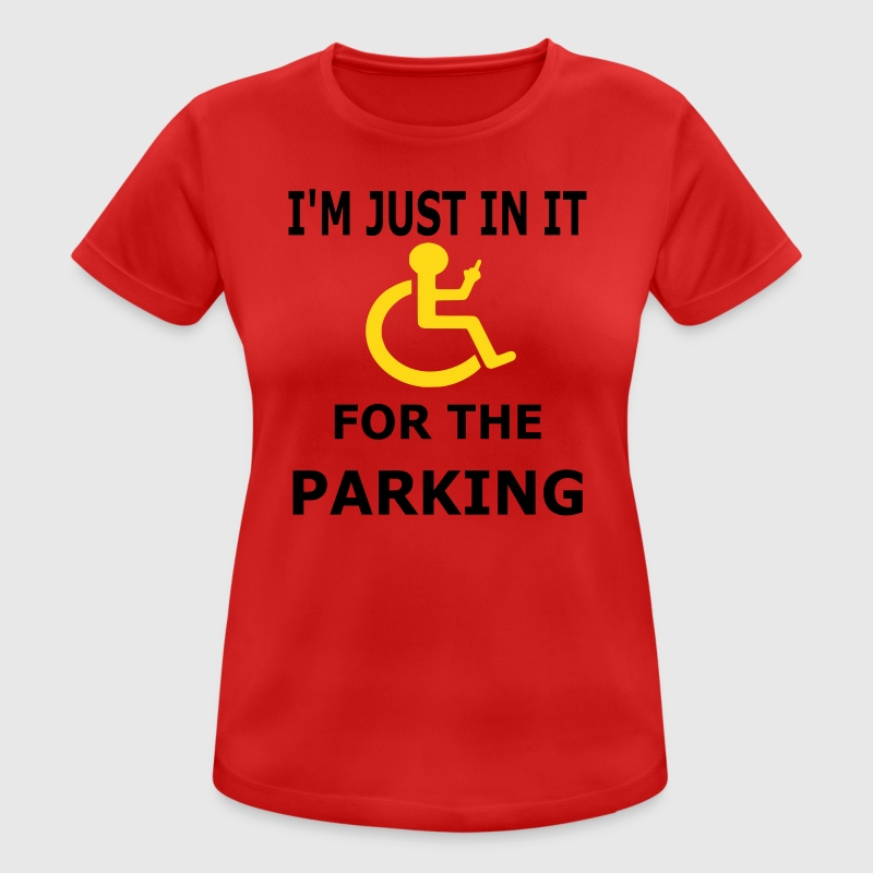 Parking - Women's Breathable T-Shirt