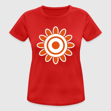 70s Retro Style Flower Power | Flower | Retro | Seventies | 70 - Women's Breathable T-Shirt