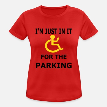 Parking Parking - Women's Breathable T-Shirt