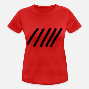 Stroke strokes - Women's Breathable T-Shirt