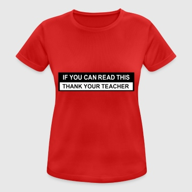2541614 123781328 teacher - Frauen T-Shirt atmungsaktiv