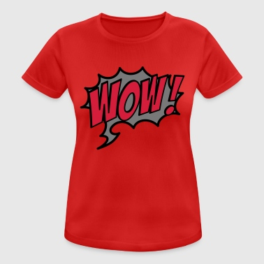 2541614 15928339 wow - Women's Breathable T-Shirt