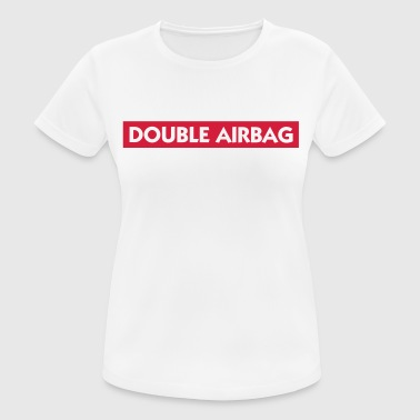 Dual airbags - vrouwen T-shirt ademend