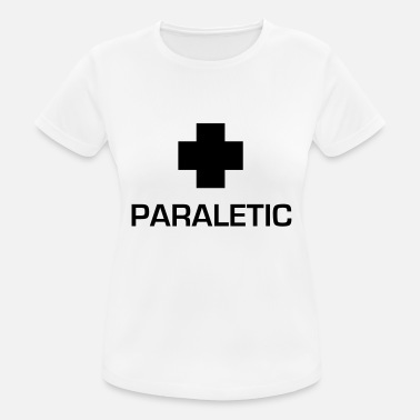 D Og S Broderi Paraletic - Sports T-shirt dame