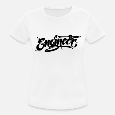 Typography Engineer (Typography Logo) - Sports T-shirt dame