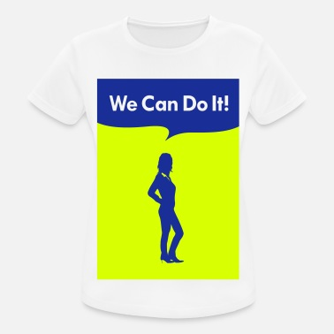 we can do it working one - Maglietta da donna traspirante