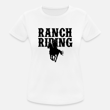 Ranch Ranch Riding Cowboy - Farbwechsel - Frauen Sport T-Shirt