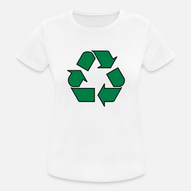 Enviromental Recycle - Women's Sport T-Shirt
