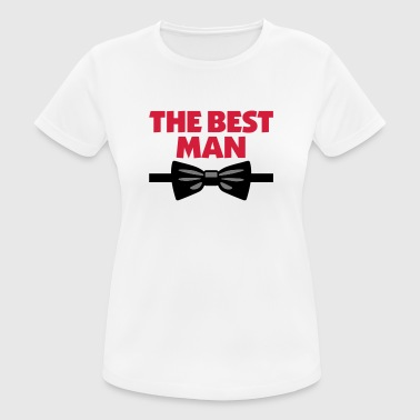 The Best Man - Women's Breathable T-Shirt