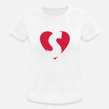 Dawson Heart S - I love S - Women's Sport T-Shirt