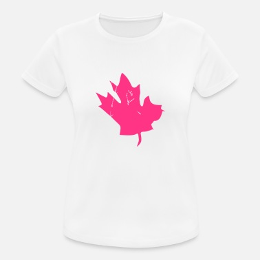 Canadian Canadian Maple Leaf - Andningsaktiv T-shirt dam