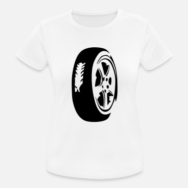 Car Tires car tire tire 8 - Women's Sport T-Shirt