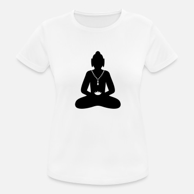 Taoism peaceful Buddha - Meditation Religion - Women's Sport T-Shirt